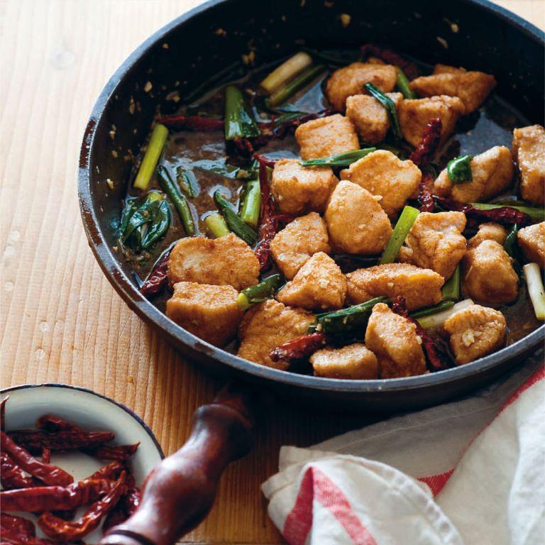 Fried Sichuan Chicken photo