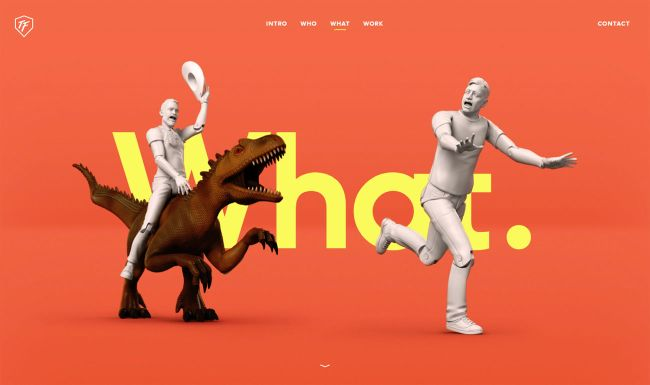 8 attention-grabbing studio sites: ToyFight