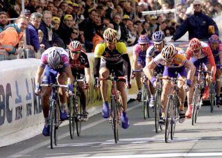 Cycling Ronde Van Vlaanderen BortolamiGianluca DekkerErik ZanetteDenis Photo by Tim De WaeleGetty Images