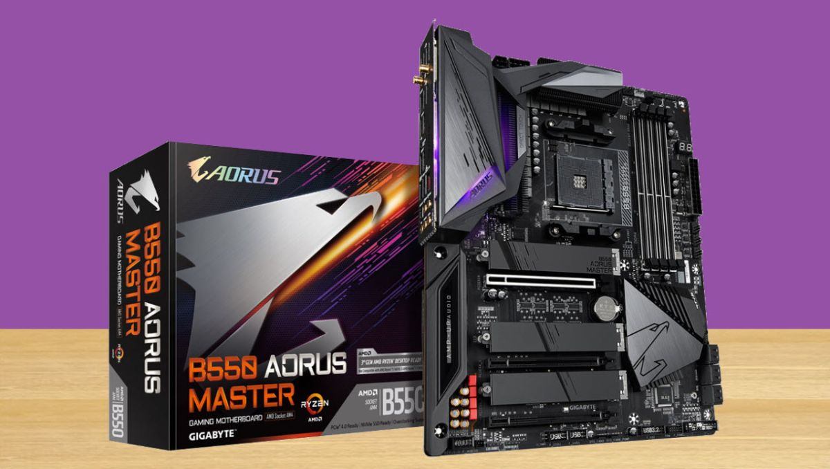 Gigabyte B550 Aorus Master Review Feature Packed And Pricey Tom S Hardware