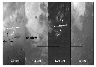 Curious Clouds Seen at Mars