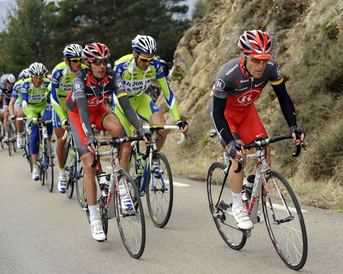 Levi Leipheimer, Andreas Kloden, Tour of Catalonia 2010, stage three