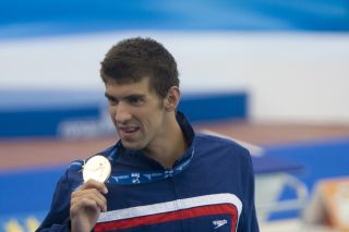 Michael Phelps has the most Olympic gold medals of any individual in the history of the games. Above, Phelps at the Fina World Aquatics Championships in 2009.