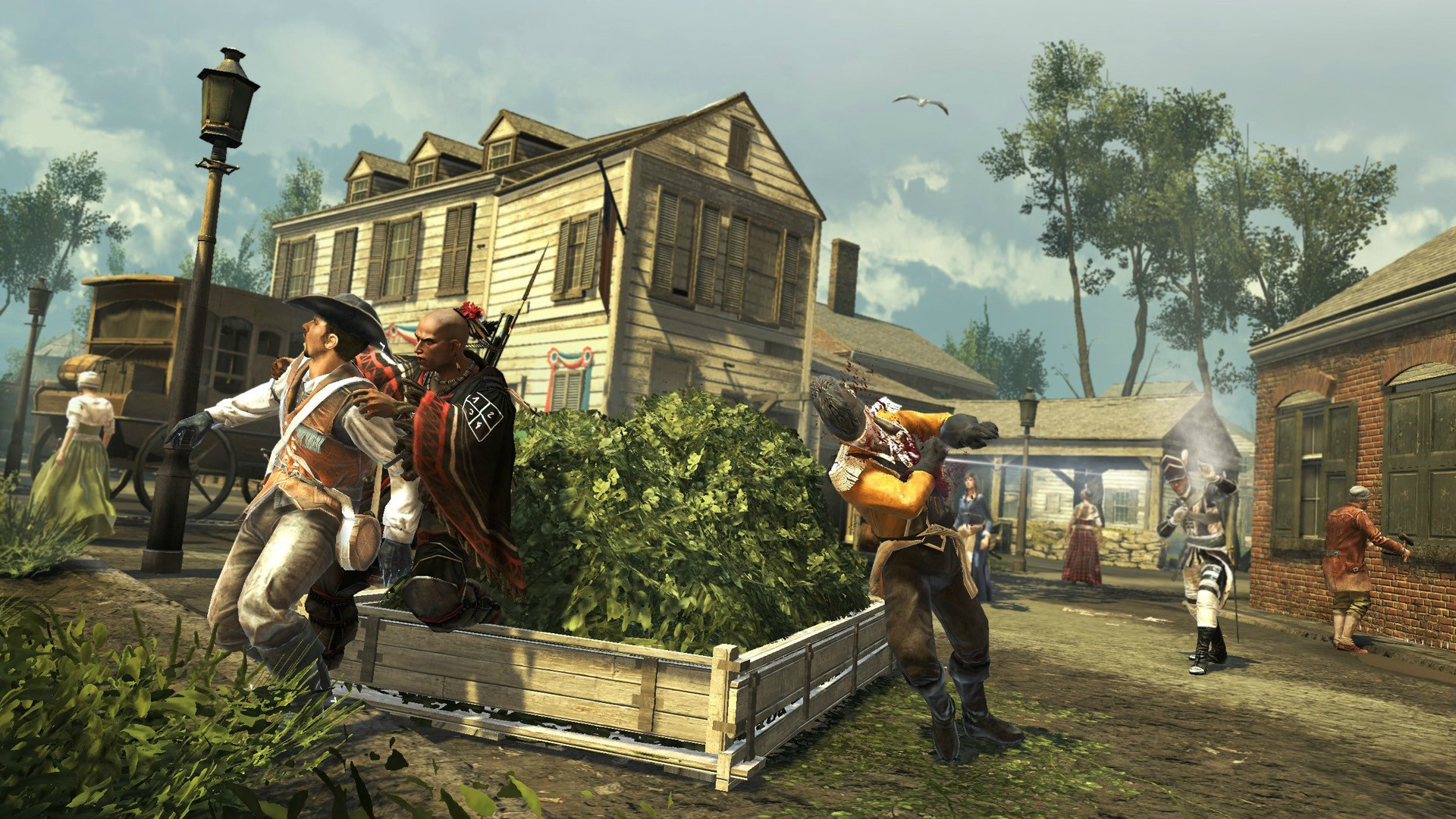 Assassin's Creed 3 Screenshots Travel Across The Colonies #24031