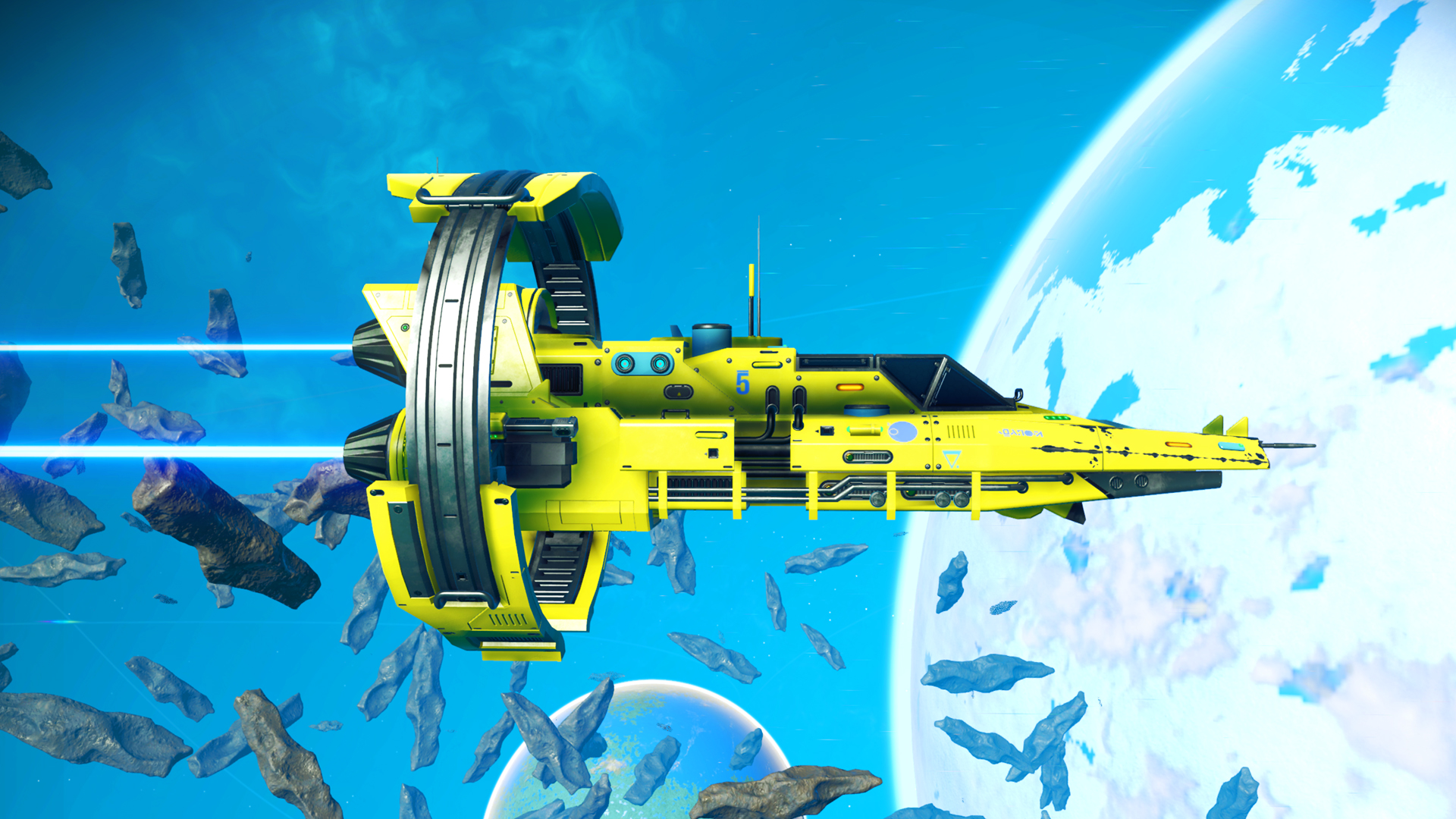 The coolest things I've seen in No Man's Sky Next so far