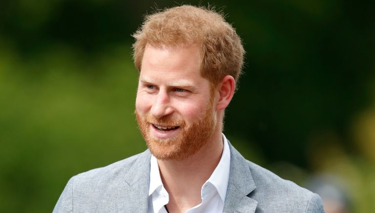 Prince Harry, Duke of Sussex visits Sportcampus Zuiderpark to mark the official launch of the Invictus Games The Hague 2020 on May 9, 2019 in The Hague, Netherlands.