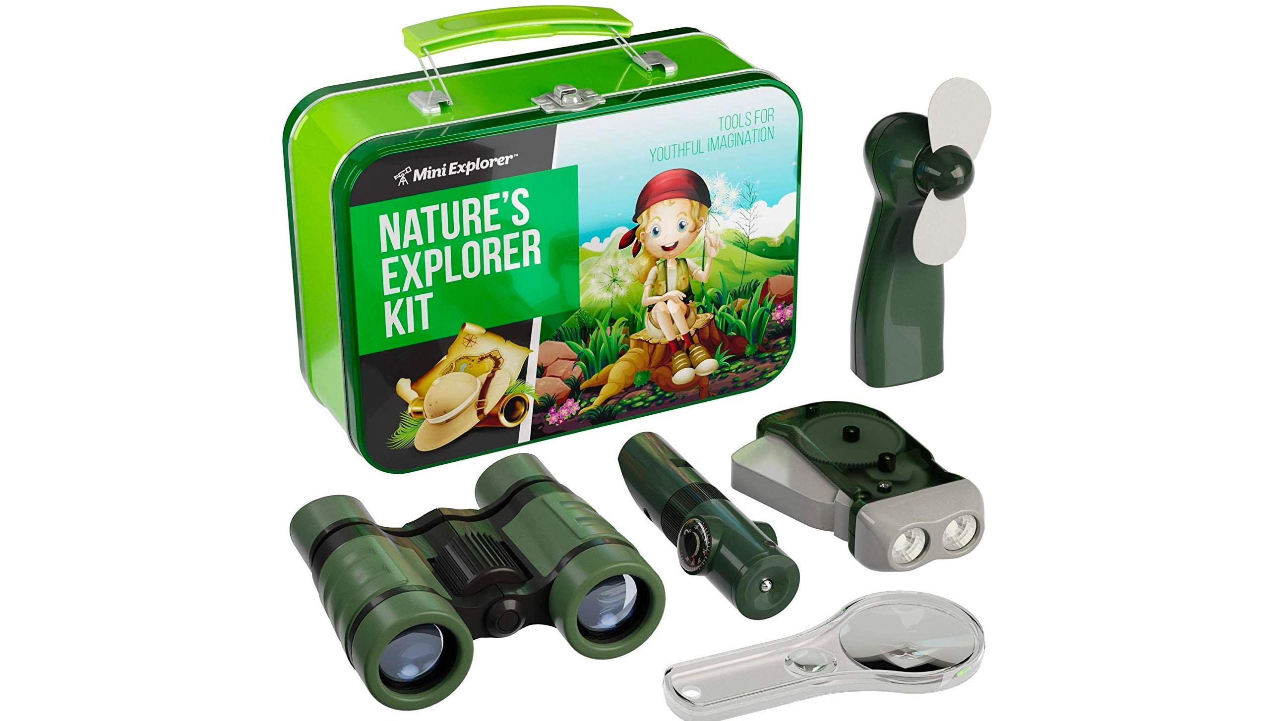 Mini Explorer binoculars for kids.