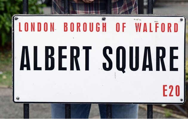 EastEnders Albert Square sign