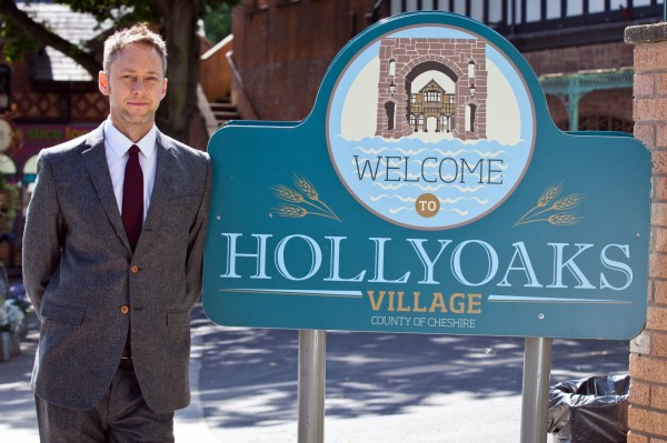 James Redmond returns to Hollyoaks