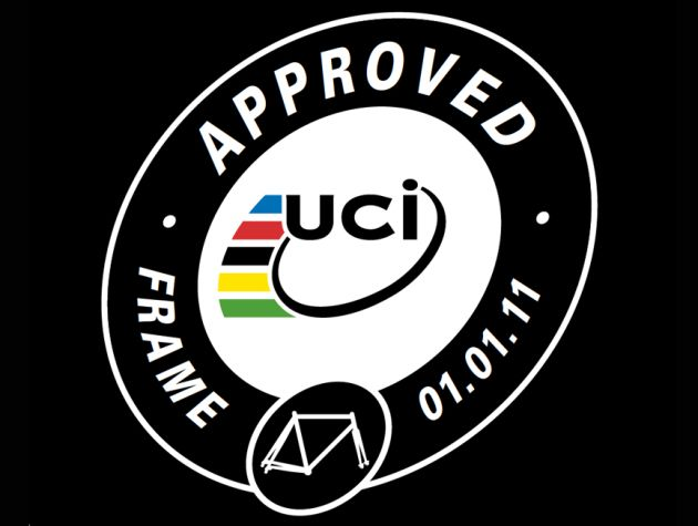 UCI approved sticker