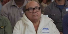 College Bathroom's Secret Danny DeVito Shrine Goes Viral, And He Approves