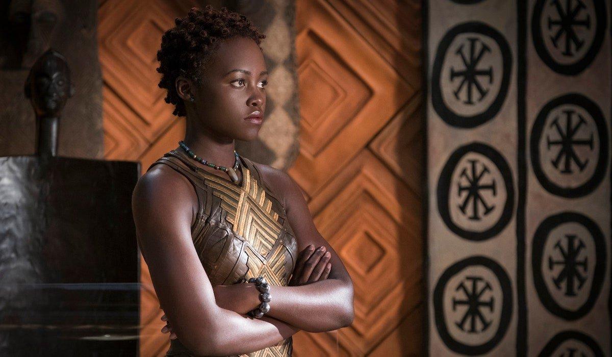 Lupita Nyong'o's Nakia in Black Panther