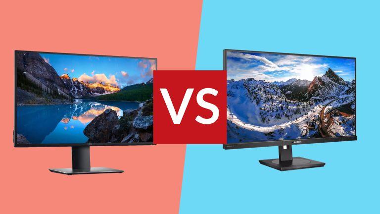 Dell U2720Q vs Philips P279P1