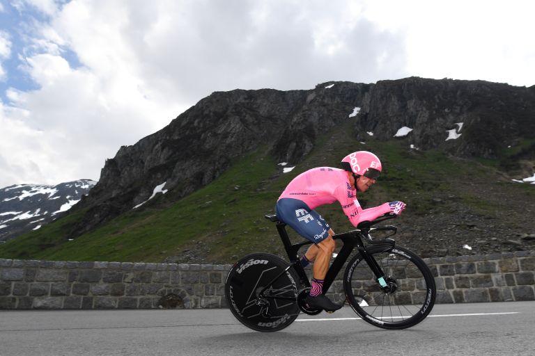 Rigoberto Uran won the Tour de Suisse stage 7 time trial