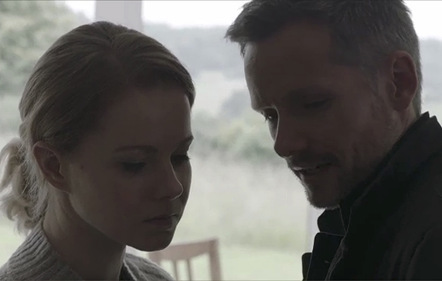 Chloe (Amy Lennox) and Evan (Jack Ryder) in Holby City