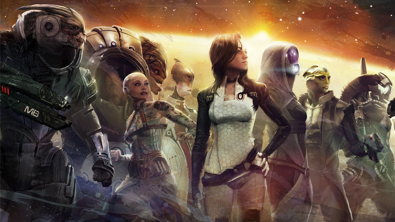 Major events in the Mass Effect timeline