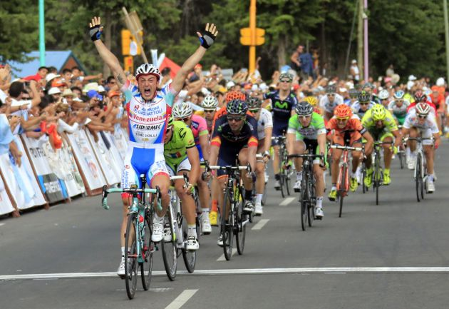 Mattia Gavazzi wins final stage of Tour de San Luis 2013