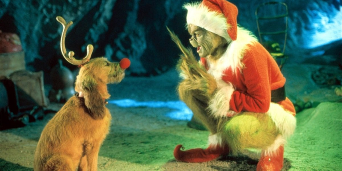 The Grinch and Max in How the Grinch Stole