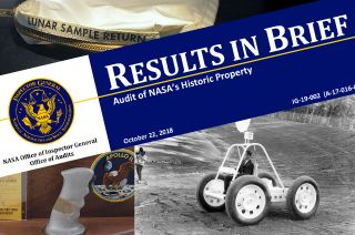 nasa audit historic property
