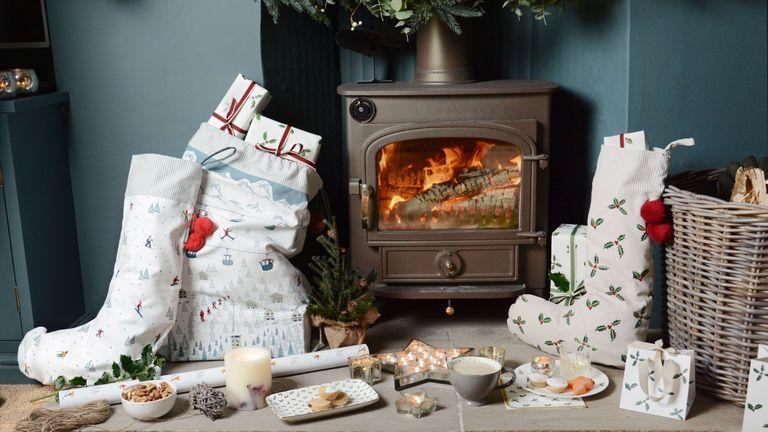 Sophie Allport Christmas stockings
