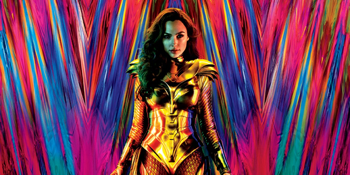Wonder Woman in her golden armor