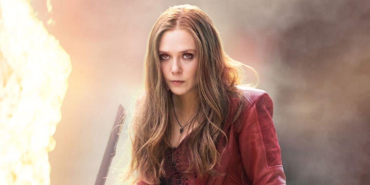 Elizabeth Olsen in Avengers: Endgame.