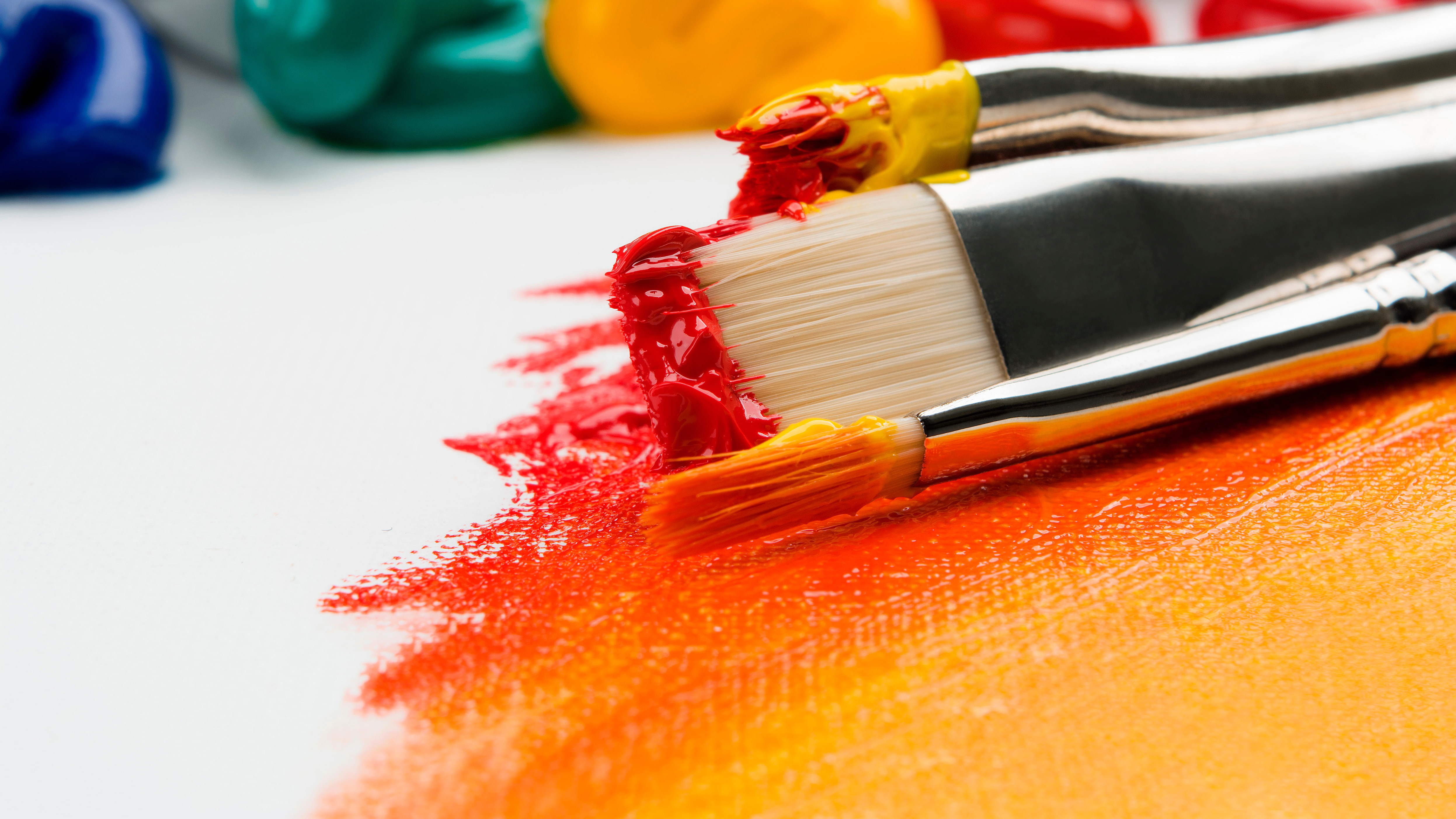 Canvas Painting For Beginners Top Tips Creative Bloq