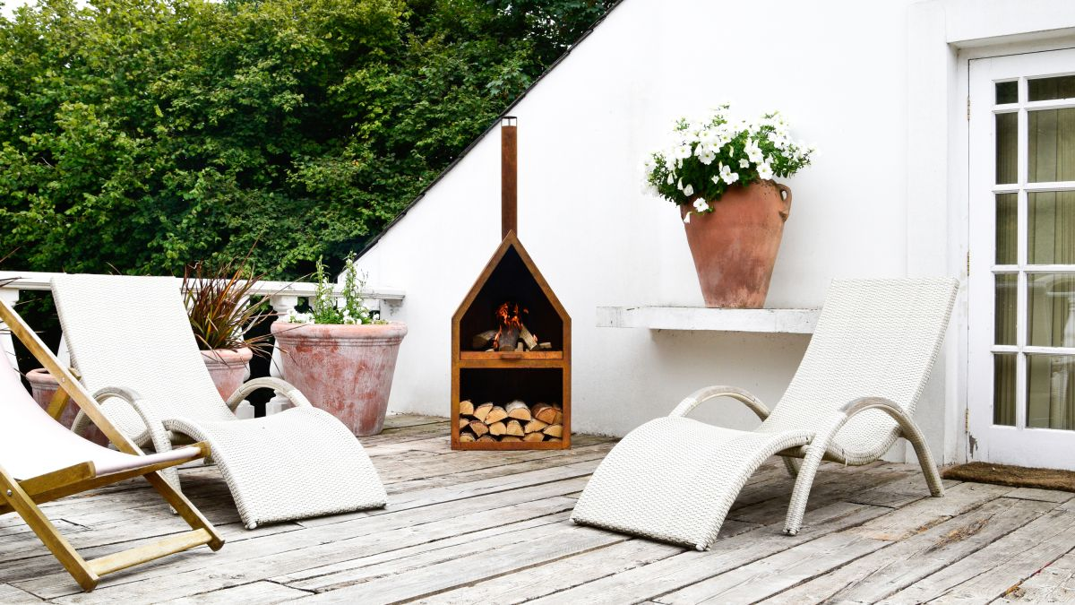 Outdoor heating ideas: 10 stylish ways to heat up your patio all year round