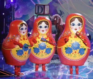 """Russian Dolls in the """"Group A Finals - In The Nick Of Time"""""""