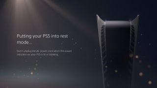 PS5 Rest Mode