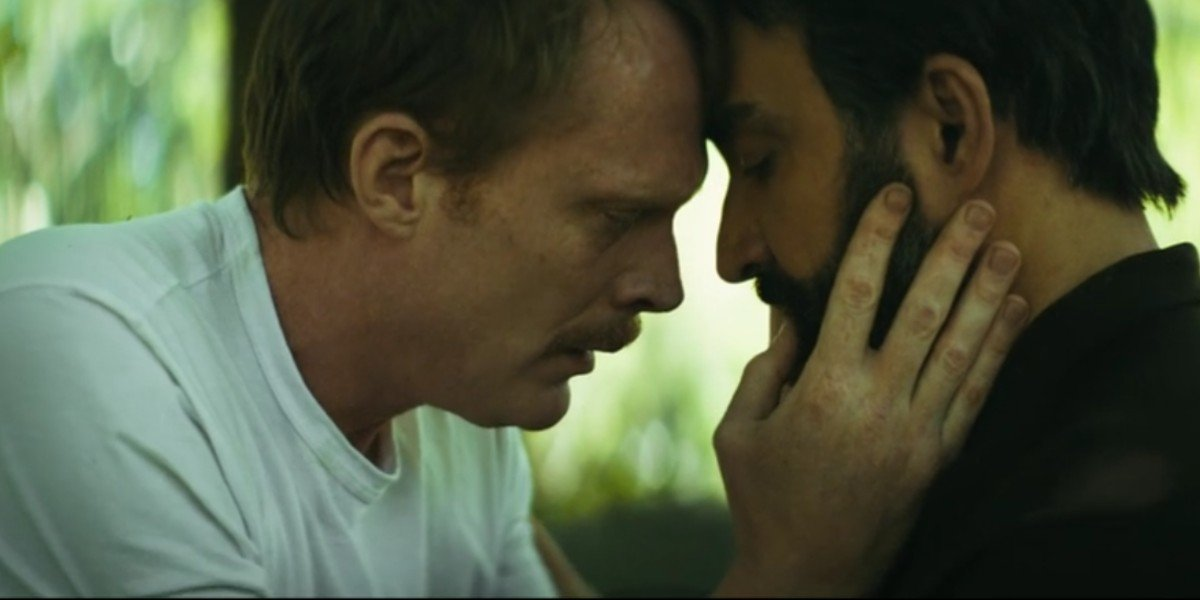Paul Bettany and Peter Macdissi  in Uncle Frank