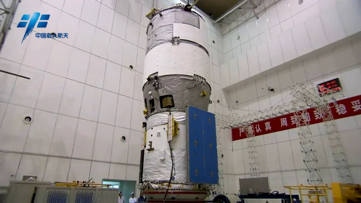 China U0026 39 S Tiangong 2 Space Lab Mission In Pictures Space