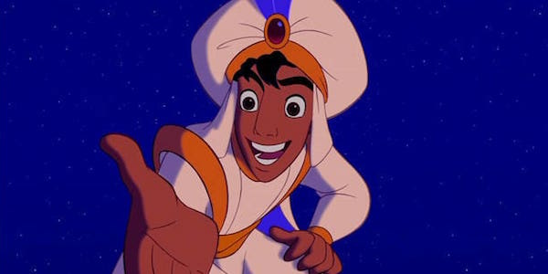 Aladdin in Prince Ali