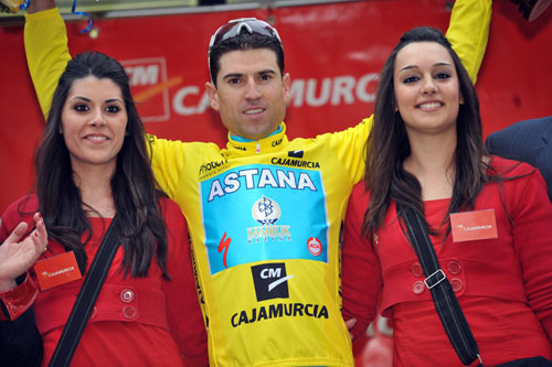 Josep Jufre leads overall, Tour of Murcia 2010, stage three