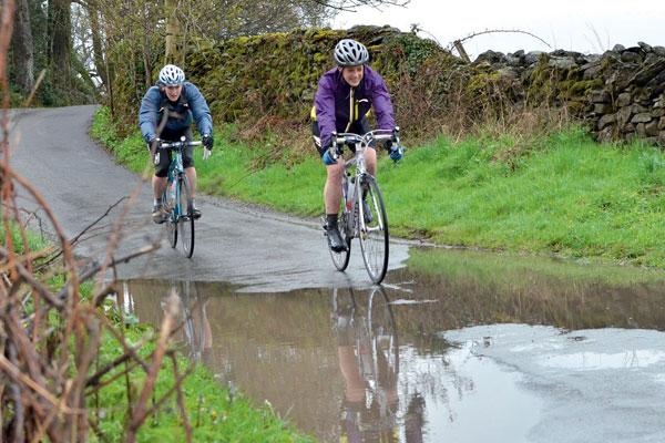 Sportive, wet, wheelbase spring classic