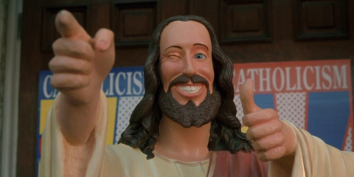 Buddy Christ from Dogma