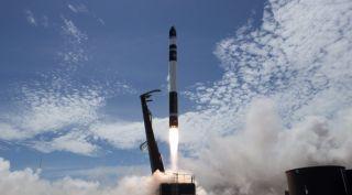 Rocket Lab Electron Rocket launch
