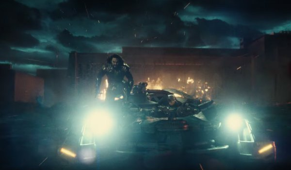 Aquaman Batmobile Justice League