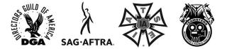 DGA/IATSE/IBT/SAG-AFTRA
