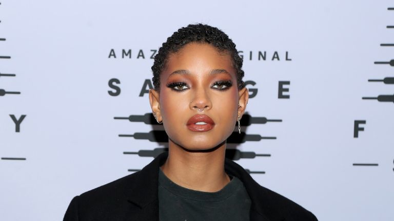 Willow Smith attends Rihanna's Savage X Fenty Show