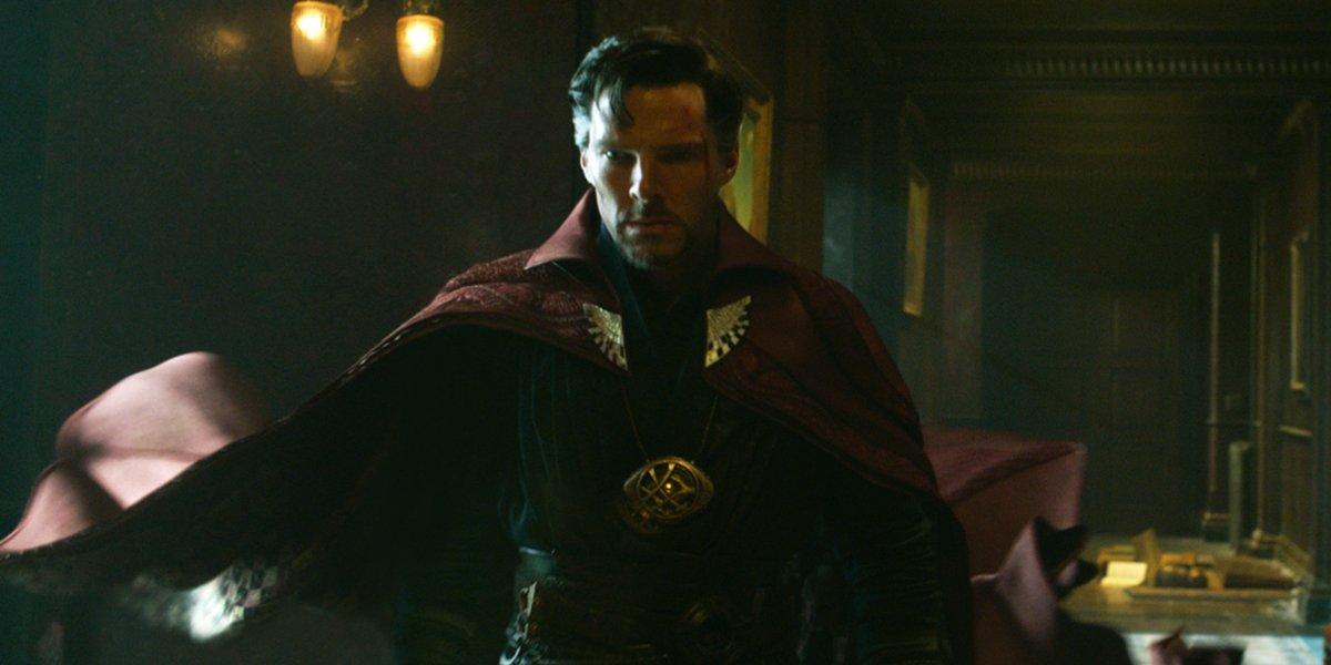 Doctor Strange with Mandala