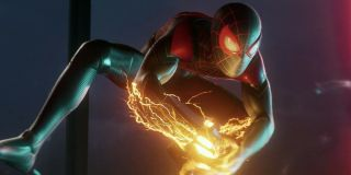 Miles Morales in the Playstation game