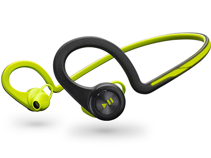 b0f3c09fc01 The Plantronics BackBeat Fit over-the-ear headphones have solid sound, and  touchy but useful controls.