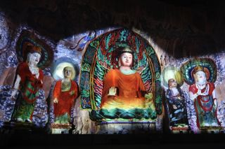 Christie Restores Buddhist Art at Longmen Grottoes with Projection Technology
