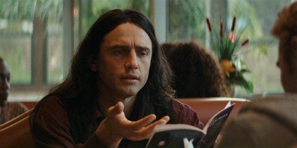 James Franco as Tommy Wiseau in Disaster Artist