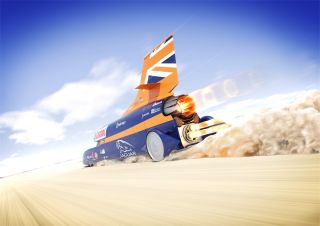 Bloodhound Car - Back