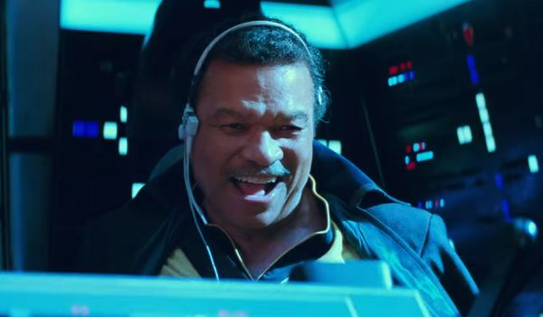 Billy Dee Williams as lando calrissian in Star Wars: The rise of Skywalker