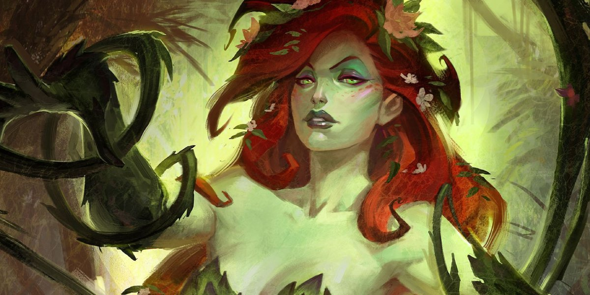 Pamela Isley is Poison Ivy