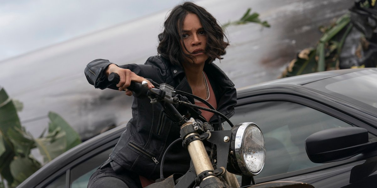 Michelle Rodriguez in Fast and Furious 9