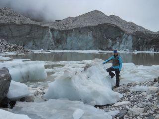 glacial lake in nepal